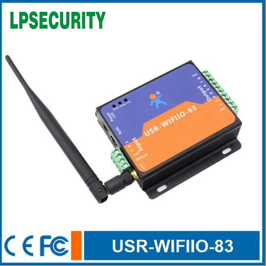 USR WIFIIO 83 8 Output 8 Channel WIFI Relay Board WIFI smart Relay Switch DC12