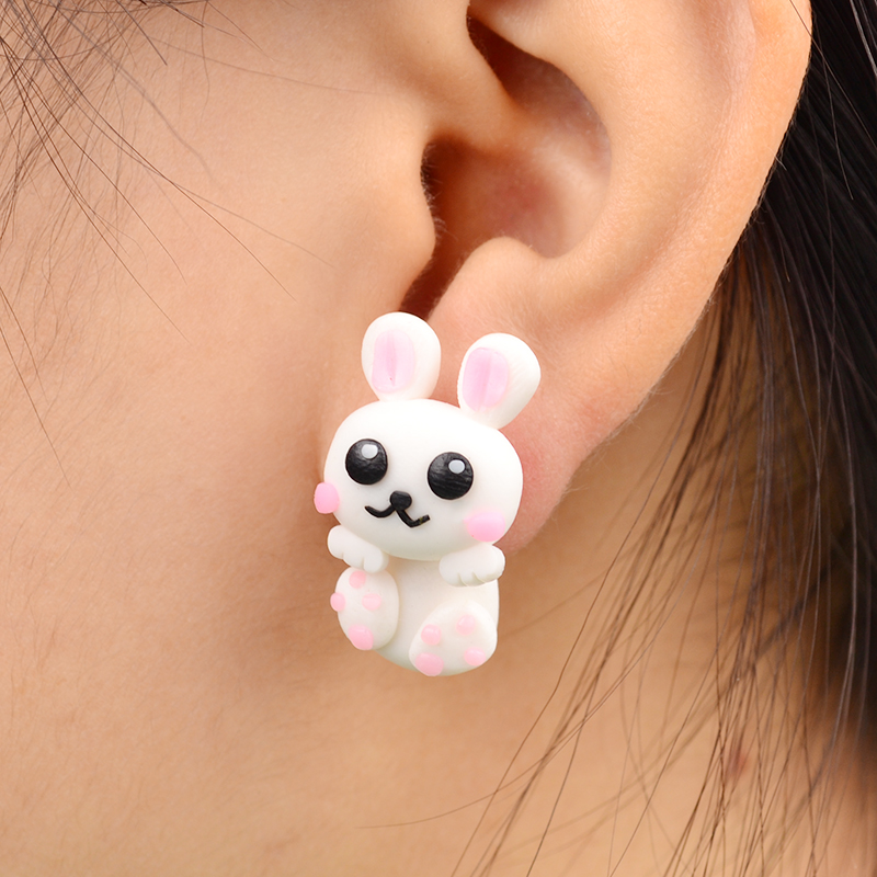 Permalink to Rabbit Stud Earrings