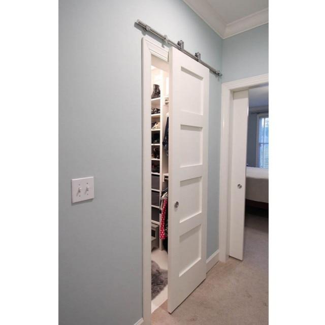 150mm 183cm 200cm european style sliding barn wood door