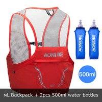 Aonijie 2.5L Unisex Aonijie Lightweight Backpack Running Vest Nylon Bags Cycling Marathon bag Portable Ultralight Hiking
