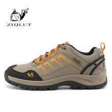 ZHJLUT Men's Outdoor Waterproof Hiking Shoes Walking Jogging Trekking Climbing Sport Shoes For Unisex Professional Hiking Shoes