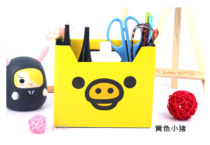 1 Pcs Cartoon Rilakkuma Paper Box Toy , For Office For Home For Children's Gift