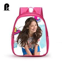 2018 Lovely Girl Soy Luna Schoolbag Cute Backpacks for Teenage Girls School Bag Fashio Pink Printing Rucksack Mochilas все цены