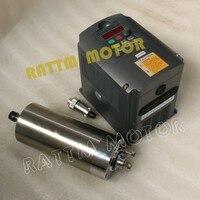 1.5KW с водяным охлаждением ER11 шпинделя 220 В, 24000 об./мин. и 1.5kw Инвертор VFD 2HP 220 В