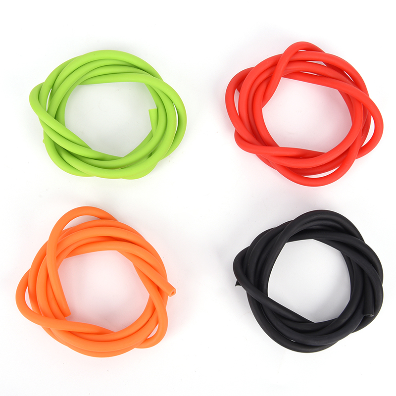 1m Elastic Slingshot Rubber Tube Outdoor Natural Latex Stretch Replacement Band Catapults Sling Rubber 1.7x4.5mm