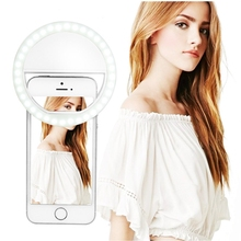 USB ring light selfie makeup light LED video ringlight photographic lighting with Charge ringlight ring for iPhone photo phone
