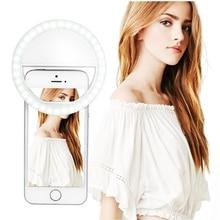 Usb Ring Licht Selfie Make Up Light Led Video Ringlicht Fotografische Verlichting Met Lading Ringlicht Ring Voor Iphone Foto Telefoon