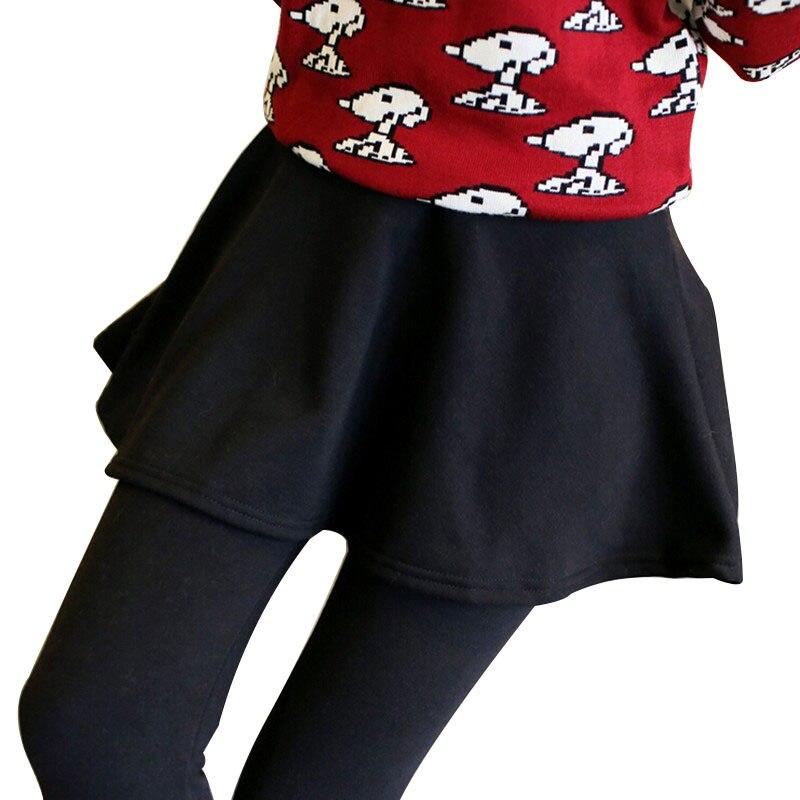 Gris Noir Sexy Slim Fit Leggings Haute Élasticité Pantalon Avec mini Jupes  De Mode Femmes Faux deux-pièce Leggins 2016 nouveau Printemps e47071789a2