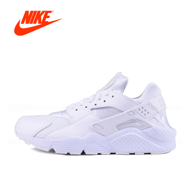 Authentic New Arrival Official Nike AIR HUARACHE RUN Men's Breathable Running Shoes Sneakers Classic Outdoor Tennis Shoes official new arrival authentic nike air odyssey breathable men s running shoes sneakers
