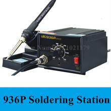 Новый 936 anti-static Регулируемый термостат 110 В/220 В электрический утюг паяльная паяльная станция паяльник Бесплатная доставка