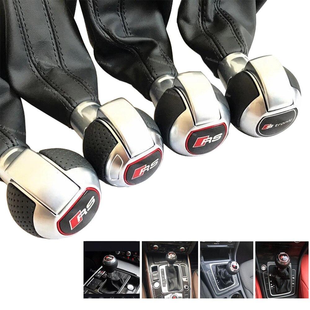 Для Audi Q3 A4 A5 A6 A7 A1 A3 Q5 VW Golf CC DSG строинит автоматический Шестерни ручка переключения и Пылезащитный чехол 8U0713139 8U0713139T ах