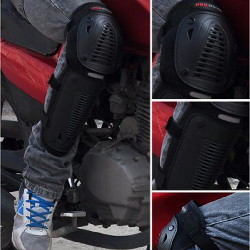 Motorcycle knee pads elbow pads Motorbike Protector Racing Motocross Bike ATV Knee and Elbows Guards Protective Gear kneepads