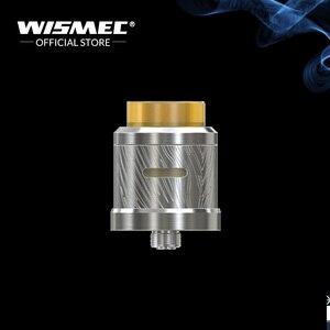 Image 3 - [במלאי] מקורי Wismec Luxotic MF תיבת ערכת עם גיליוטינה V2 RDA טנק עם 7ml squonk בקבוק משתמש 21700/18650 e סיגריות Mech ערכת