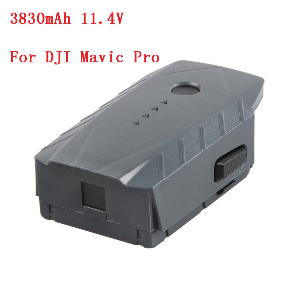 Intelligent Flight Battery 3830mAh 11.4V Designed For DJI Mavic Pro Max Flight Time 27 Minutes 43.6 W mavic car charger used to charge the intelligent flight battery for dji mavic pro