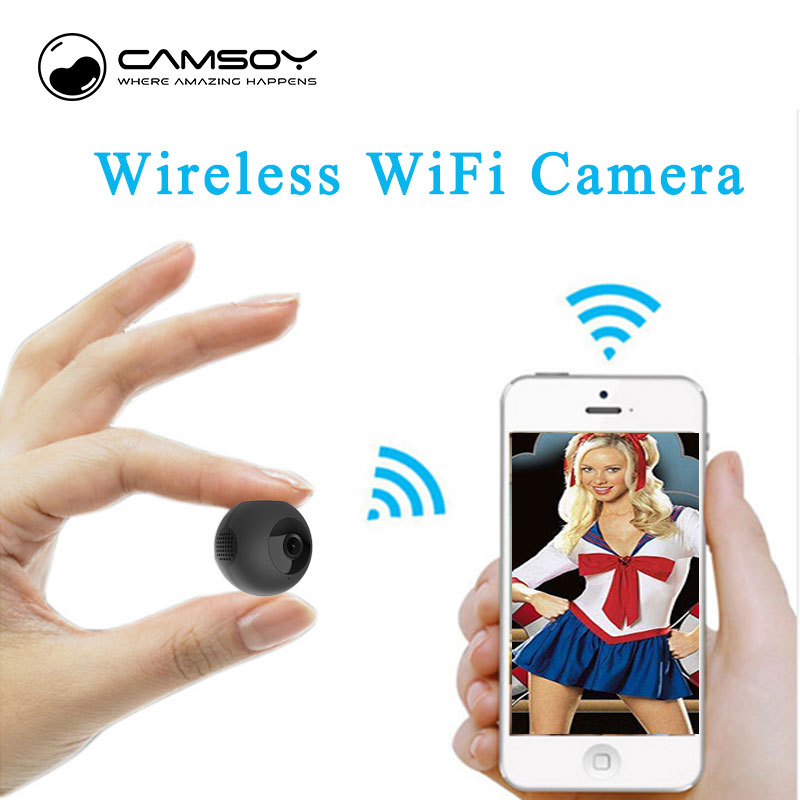 цена на Mini Camera HD 720P Video Recorder Digital Sports wifi p2p ip small Camera Night Vision Wide-Angle Car camera Camcorder pingpang
