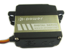 Image 2 - K power MM1100 10KG Drehmoment Metall Getriebe wasserdicht Servo für RC Auto/RC Hobby/RC roboter /flugzeug/boot/Zurückziehen landung