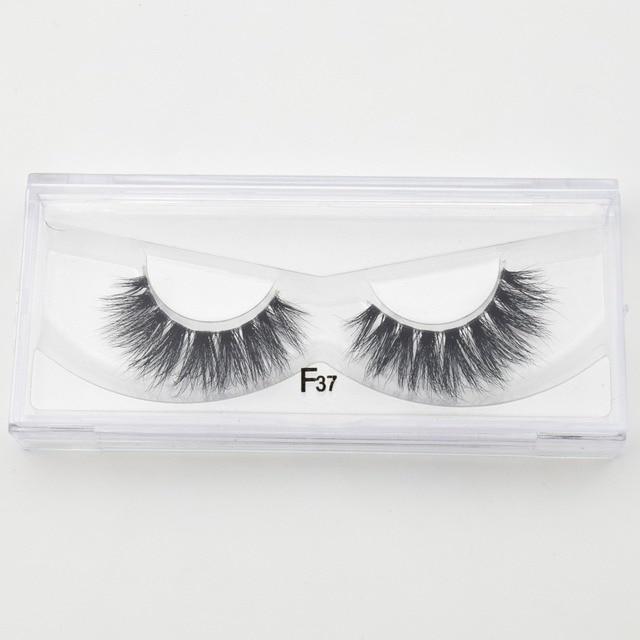 Visofree Mink Eyelashes Invisible Band Lashes Natural 3D Mink False Eyelash Full Strip Transparent band lashes cilios posticos 5