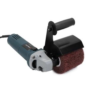 Image 2 - Meuleuse dangle électrique multifonctionnelle, polisseuse, accessoires de fixation, ponceuse métal, acier et bois