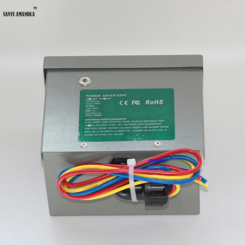 SANYI AMANDLA Electric Save Box Single Phase Power Saver 50kw For ...