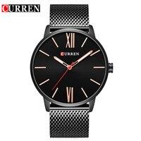 CURREN 2017 Fashion Casual Men S Watch Strap Quartz Wristwatch Water Resistant 30m 8238
