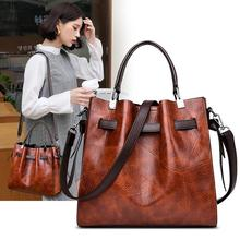 Vintage Boston Hand Bags for Women 2019 New Arrival Large Capacity Shoulder Retro Causal Winter Crossbody