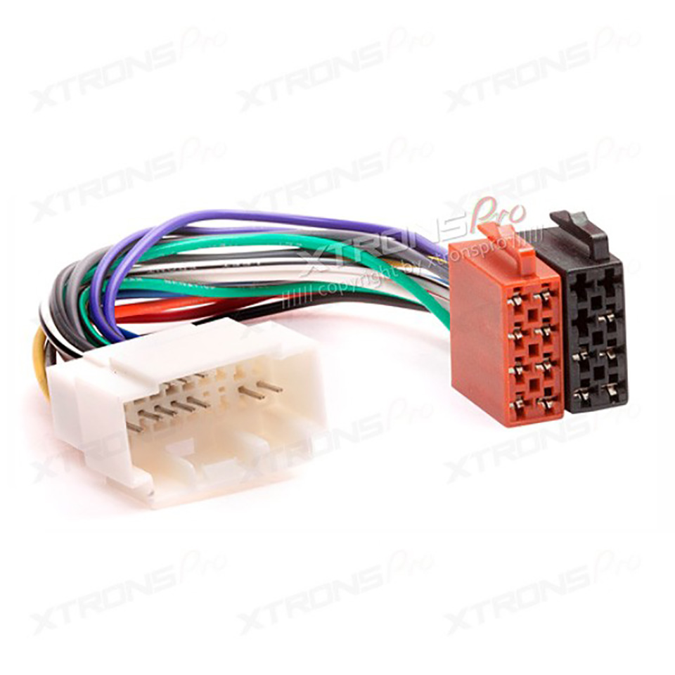 Car Stereo Iso Wiring Harness For Honda 1999 Acura1999 Suzuki 2001 Double Din Auto Radio Adapter Connector Power Cable Adaptor Plug Wire In Cables