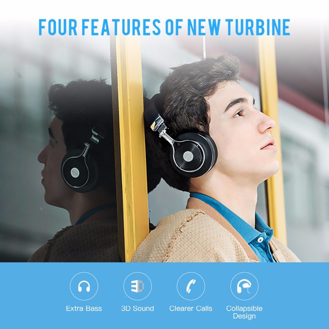 Bluedio T3 Bluetooth наушники с огромным басом и беспроводные BT4.1 наушники для смарттелефонов а тажке наушники с микрофоном