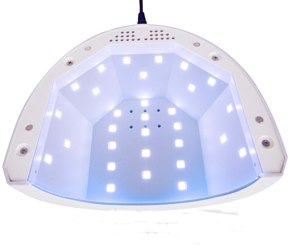 SUNone Nail Dryer 48W/24W Dual Power White Light UV LED Lamp Professional Polish Gel Fast Curing Paint Art Manicure Salon Tool shanghai kuaiqin kq 5 multifunctional shoes dryer w deodorization sterilization drying warmth