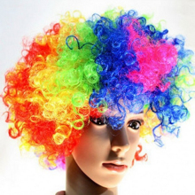 Hallowmas wig for performance clown wig dance party magic toys magic tricks stage magic