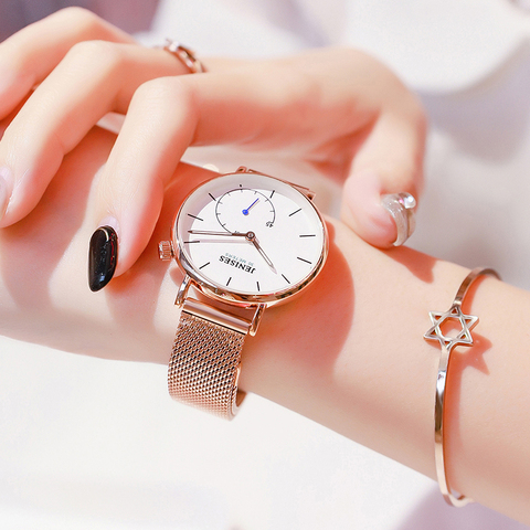 2019 New Fashion Women Watches Woman Luxury Brand Dress Steel Quartz Ladies Clock Women Female Lady Wrist Watches For Women Lahore
