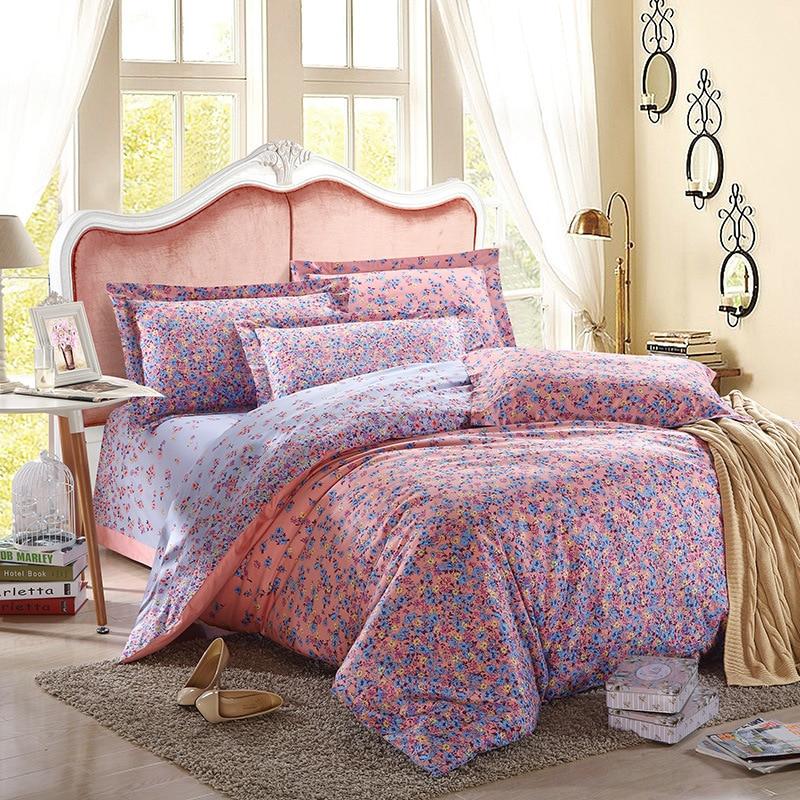 100 Cotton Tribute Silk Bedding Set 3d Bohemian Bed Linen Comforter Sets Queen King