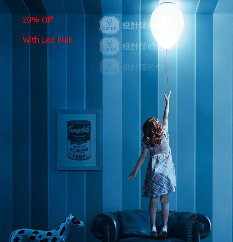 Free Shipping Modern Contemporary Kids Bedroom Balloon Celing Lights Creative White Fashion Ceiling Lamp E27 LED bulb for home free shipping modern contemporary kids bedroom balloon celing lights creative white fashion ceiling lamp e27 led bulb for home
