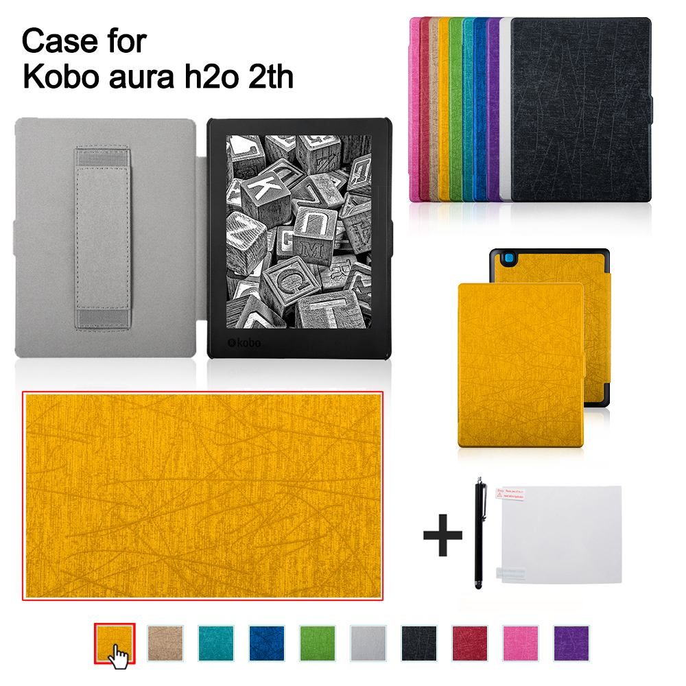 Case for 2017 kobo aura h2o edition 2 ereader kobo aura for Housse kobo aura h2o edition 2