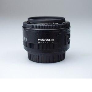Image 4 - Ulanzi Yongnuo 35mm Lens YN35mm F2 canon lensi Geniş açı Büyük Diyafram Sabit Otomatik odak lensi EF Dağı EOS Kamera w Lens Çantası