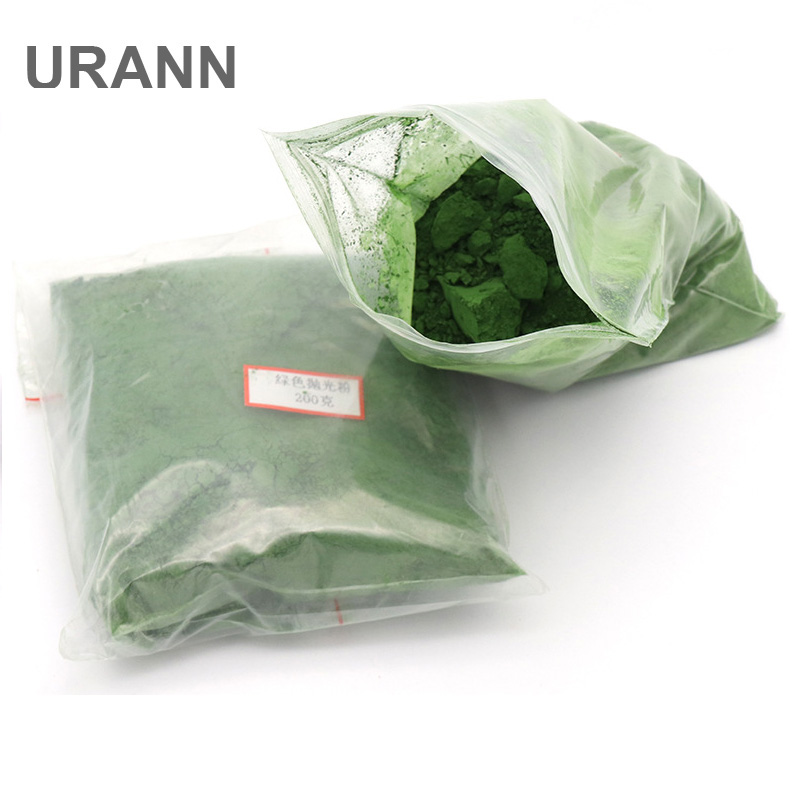 URANN 50g 100g 200g 500g Jade Polishing Powder Chromium Oxide Amber Jade Woodworking Crystal Agate Glass Polishing Powder
