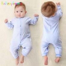 babzapleume Brand 0-24M Neonatal Romper 100% Cotton Soft Girl Jumpsuit Newborn Infant Underwear Clothing Baby Boy Clothes BC1036