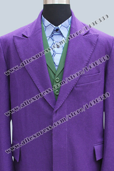 Aliexpress.com : Buy Batman Joker Halloween Cosplay Costume Trench ...