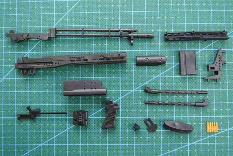 1/6 مقياس M14BER مسدس لعبة نموذج التجمع الألغاز قوالب بناء بندقية الجندي سلاح لشخصيات العمل