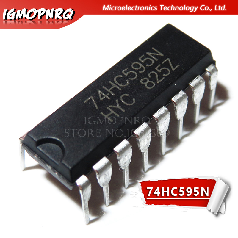 תיאור sn74hc595n
