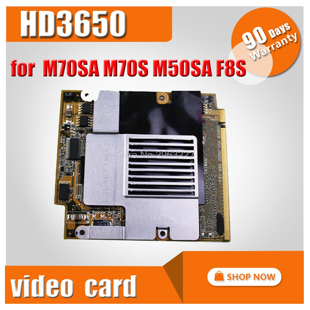HD3650 for ASUS M70SA M70S M50SA M50 M50S M50SA X55SA F8SP F8V M86 ddr2 VGA brand 1GB Graphics Card Video card Mobility Radeon image
