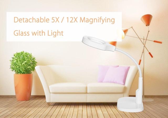 Handsfree loupe flexibele vergrootglas met licht veelzijdige in