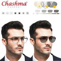Myopia Sunglasses Photochromic Finished Myopia Eyeglasses Frame Men Women Sun glasses Myopia Eyewear 0.5 0.75 1.0 1.5 1.75
