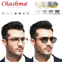 Myopia Sunglasses Photochromic Finished Myopia Eyeglasses Frame Men Women Sun glasses Myopia Eyewear 0.5 0.75 1.0 1.5 1.75