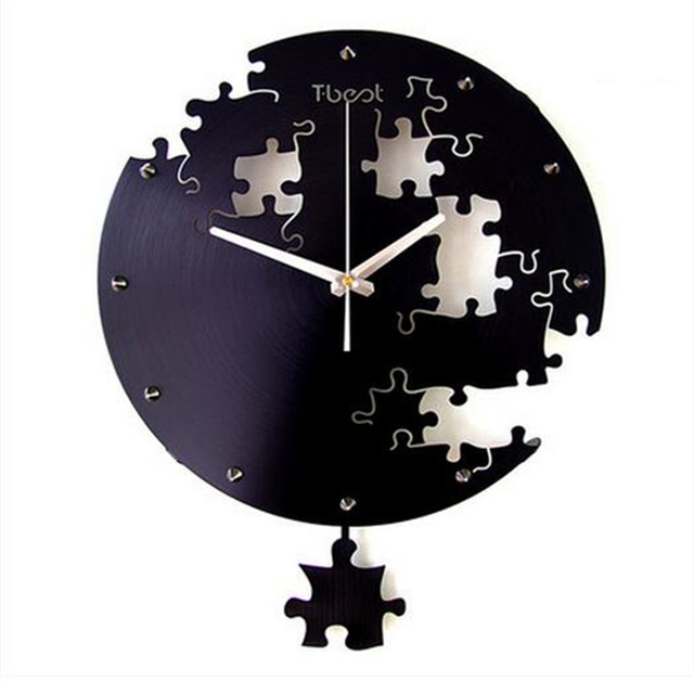 Chinese Silent Watch Wall Clock Mechanical Home Vintage Home Decor ...