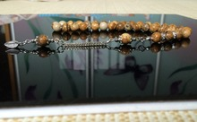 8mm  Semi-precious stone2   Islamic Prayer Beads tasbih tesbih Misbaha Tasbeeh Masbaha Sibaha