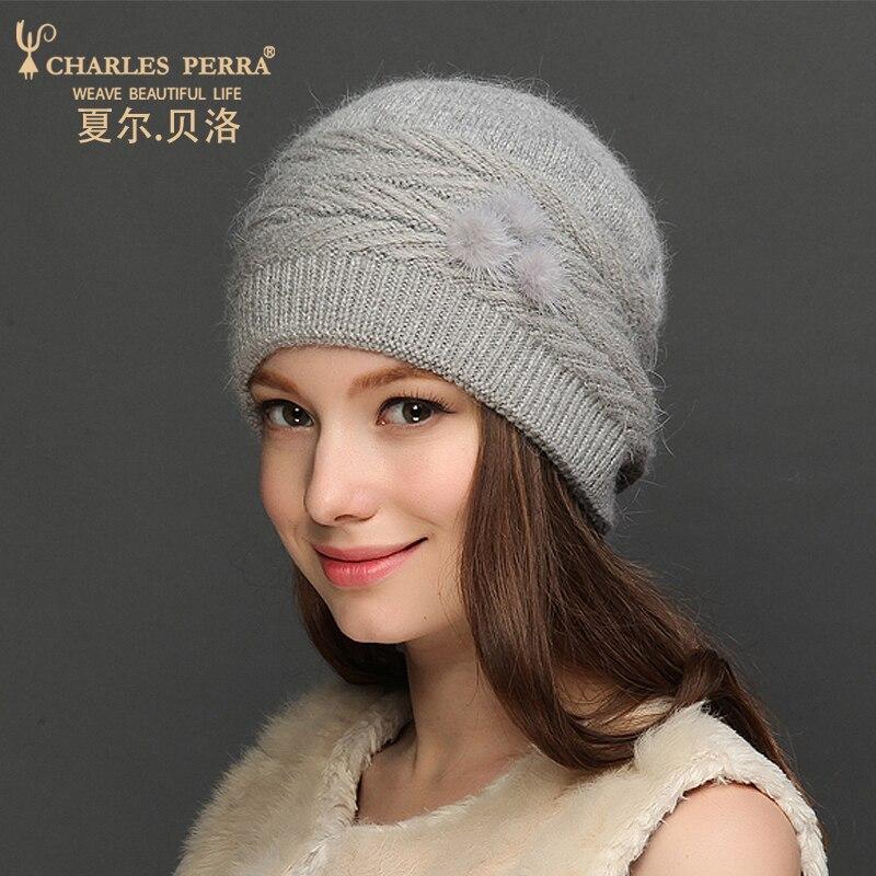 Charles Perra Sombreros de lana para mujer NUEVO Otoño Invierno - Accesorios para la ropa - foto 3