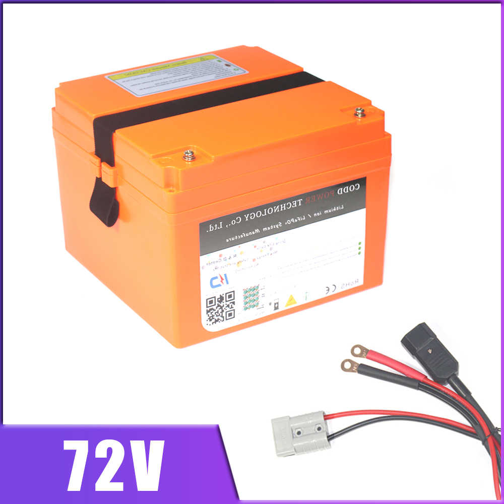 72V 5000W Electric Motorcycle Scooter Lithium Battery 72V 20AH 30AH 40AH Portable Battery