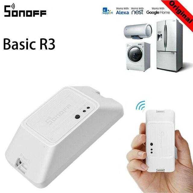 SONOFF b sicos R3 inteligente en OFF WiFi interruptor soporte para temporizador de luz APP LAN
