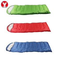 Portable Envelope Sleeping Bag Mini Ultralight Sleeping Bag Camping Hiking Spring & Autumn Cotton Travel Outdoor Sleeping Bag цена