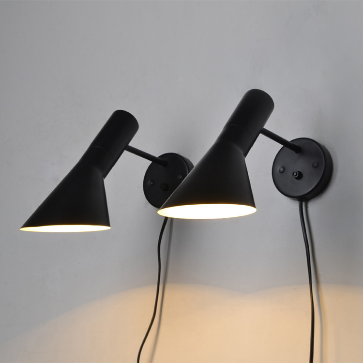 Modern Sconce Lighting Wall Mounted Bedside Reading Light Creative Lamp Living Room Foyer Home